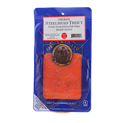 Spence & Co. Ltd. Smoked Steelhead Trout,4 oz.