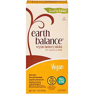 Earth Balance Vegan Buttery Sticks, 16 oz