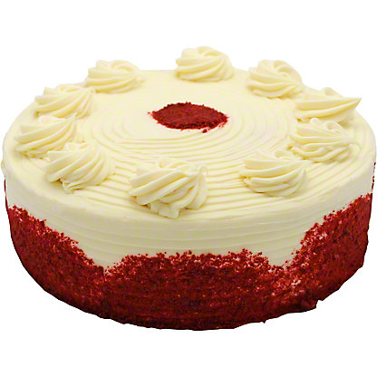 "Central Market 9"" Red Velvet Cake,70 OZ"