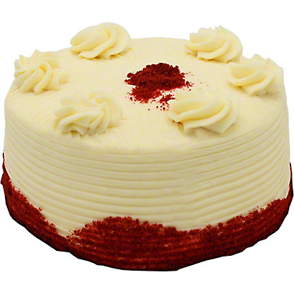 CENTRAL MARKET 6 Inch Red Velvet Cake,38 OZ