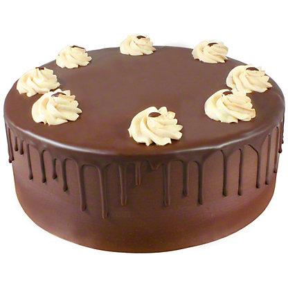 CHOCOLATE GANACHE CAKE 9'