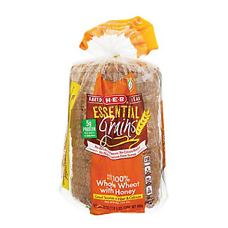 H-E-B Essential Grains 100% Whole Wheat with Honey Bread,24 OZ