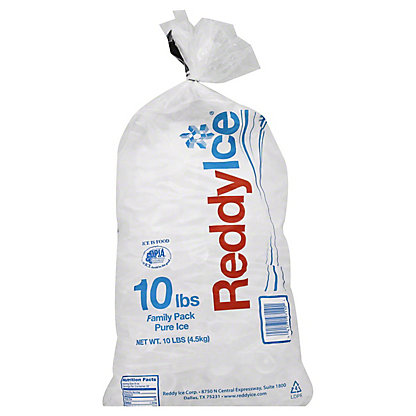 Reddy Ice Bagged Ice,10 lb