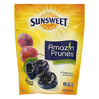 Sunsweet Amazin Pitted Dried Plums,8 OZ