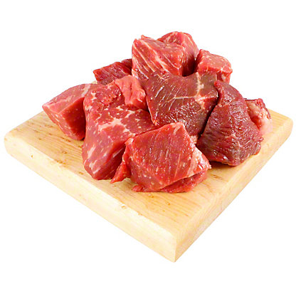 Natural Extra Lean Stew Meat, lb