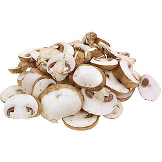 Sliced Baby Bella Mushrooms, lb