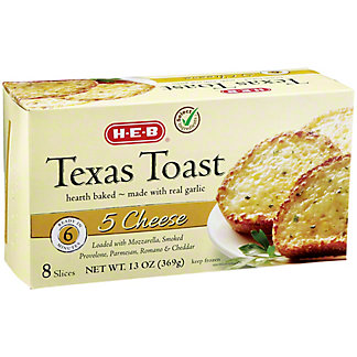 H-E-B 5 Cheese Texas Toast,8 CT