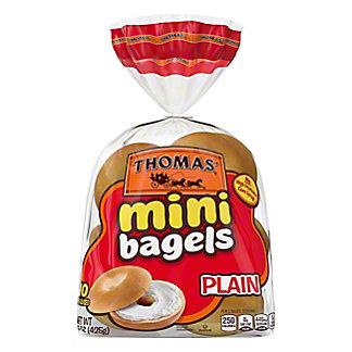 Thomas' Plain Mini Bagels,10 CT
