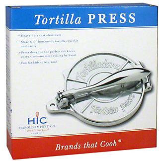 Harold Imports Tortilla Press, ea