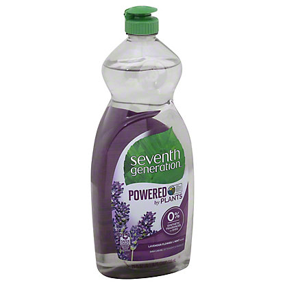 Seventh Generation Lavender Flower & Mint Natural Dish Liquid,25 oz
