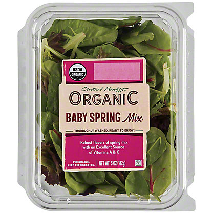 Central Market Organics Spring Mix, 5 oz