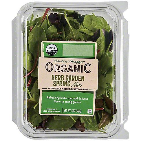 Central Market Organics Herb Garden Spring Mix, 5 OZ