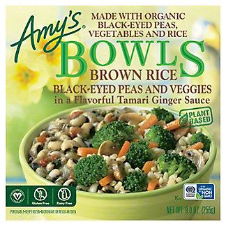Amy's Brown Rice Black-Eyed Peas and Veggies Bowls,9.00 oz