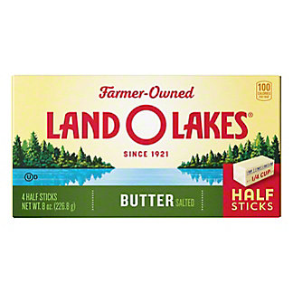 Land O Lakes Salted Butter, 4 ct