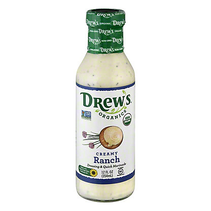 Drew's Natural Buttermilk Ranch Salad Dressing,12 OZ