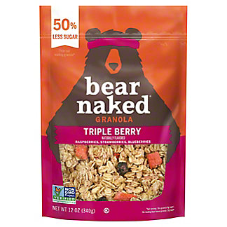 Bear Naked Fit Triple Berry Crunch Granola, 12 oz