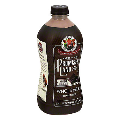Promised Land Midnight Chocolate Milk, 52 oz