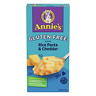 Annie's Homegrown Rice Pasta and Cheddar Macaroni and Cheese, 6 oz