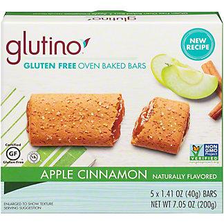 Glutino Apple Cinnamon Breakfast Bars, 5 ct