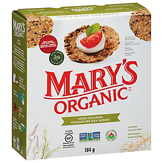 Mary's Gone Crackers Organic Herb Crackers, 6.50 oz