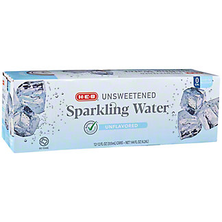 H-E-B Sparkling Pure Water Beverage 12 PK, 12 oz