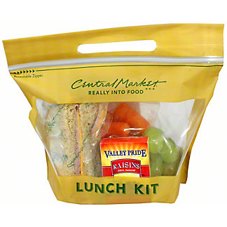 Central Market Ham and Cheese on Wheat Lunch Box, ea