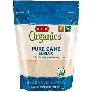 H-E-B Organics Cane Sugar,32.00 oz