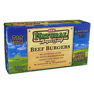 H-E-B Angus Beef Beef Patties,32 oz