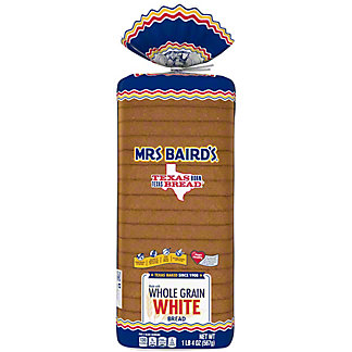 Mrs Baird's Whole Grain White Bread,20 OZ