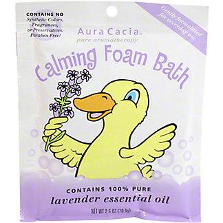 Aura Cacia Calming Lavender Kid Bath Foam, 2.5 OZ