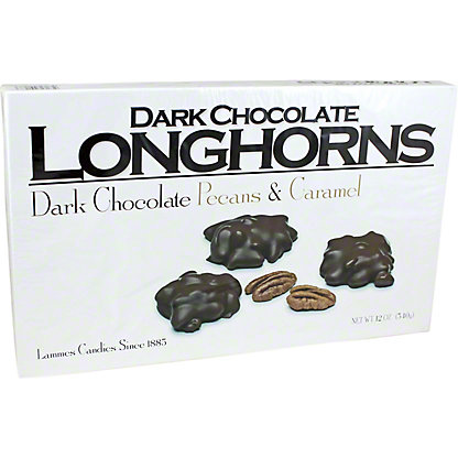 Lammes Lammes Texas Longhorns Dark Chocolate,12 OZ