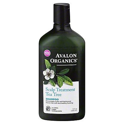 Avalon Organics Scalp Treatment Tea Tree Shampoo,11 OZ