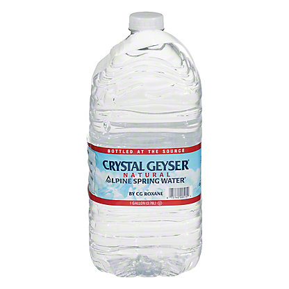 Crystal Geyser Alpine Spring Natural Water, 1 gal