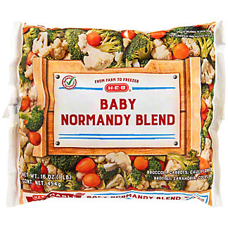 H-E-B H-E-B Steamable Baby Broccoli Normandy Blend,16.00 oz