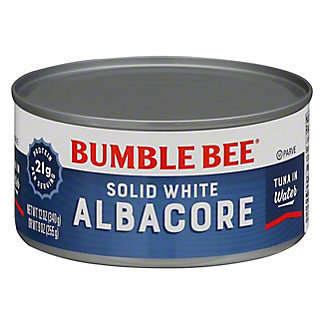 Bumble Bee Premium Solid White Albacore Tuna In Water, 12 oz