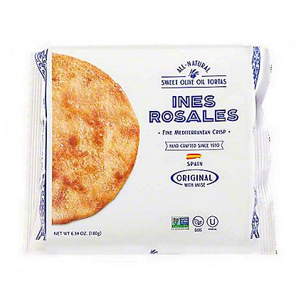 Ines Rosales Original Sweet Olive Oil Tortas,6.34 OZ