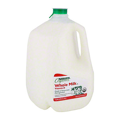 Central Market Organics Vitamin D Whole Milk, 1 gal