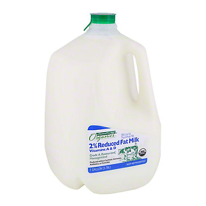 Central Market Organics Vitamins A & D Reduced Fat 2% Milkfat Milk, 1 gal