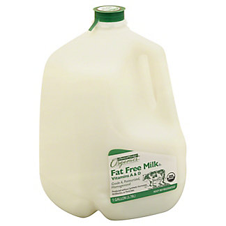Central Market Organics Vitamins A & D Fat Free Milk, 1 gal