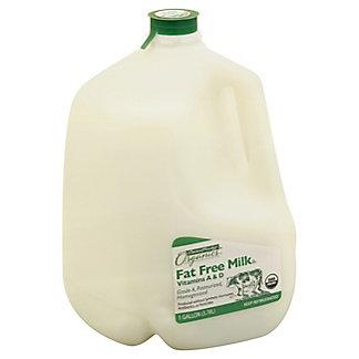 Central Market Organics Vitamins A & D Fat Free Milk, 1 gal