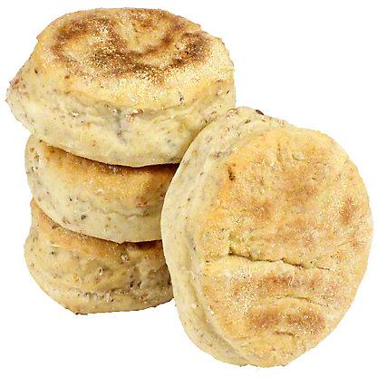 Central Market Multi Grain English Muffins, 4 ct