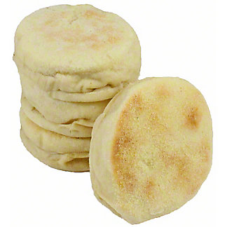 Central Market Plain English Muffins, 4 ct