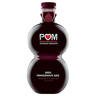 Pom Wonderful 100% Pomegranate Juice, 48 oz