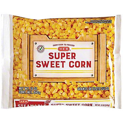 H-E-B Steamable Super Sweet Corn,12 oz