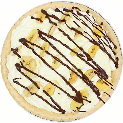 Central Market Banana Cream Pie, 10 inch