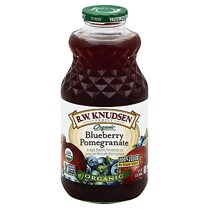 R.W. Knudsen Family Organic Blueberry Pomegranate Juice, 32 oz