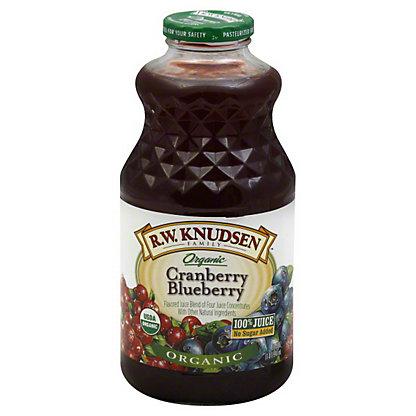 RW Knudsen Organic Cranberry Blueberry Juice,32 OZ