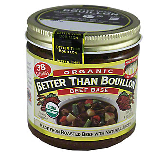 Better Than Bouillon Beef Base, Organic,8 oz