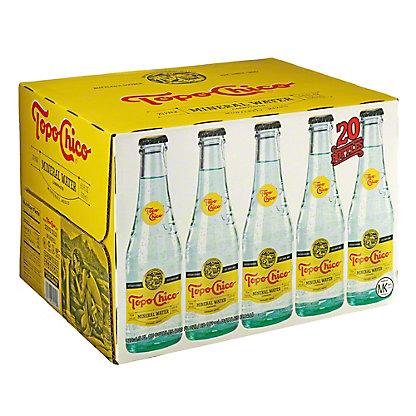 Topo Chico Mineral Water 20 PK, 6.5 oz