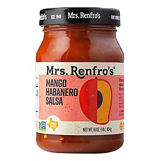 Mrs. Renfro's Mango Habanero Medium Hot Salsa,16 OZ